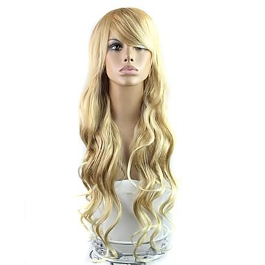 Synthetische Perücken Klassisch Blond Synthetische Haare Blond Perücke Damen