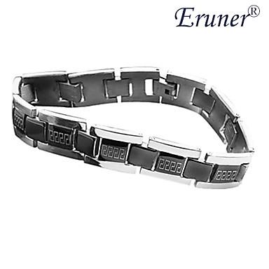 Titan Stahl Armband (Silber)