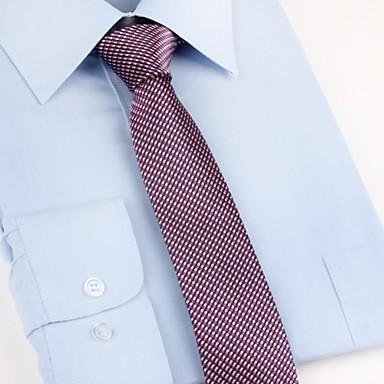 economico Abbigliamento uomo-Per uomo Da serata / Da ufficio / Essenziale Cravatta A quadri