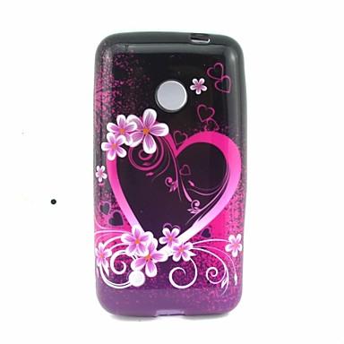 Για Θήκη Nokia Με σχέδια tok Πίσω Κάλυμμα tok Καρδιά Μαλακή TPU Nokia Nokia Lumia 530