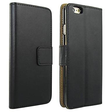 Hülle Für Apple iPhone 6 Plus / iPhone 6 Geldbeutel / Kreditkartenfächer / mit Halterung Ganzkörper-Gehäuse Solide Hart PU-Leder für iPhone 6s Plus / iPhone 6s / iPhone 6 Plus