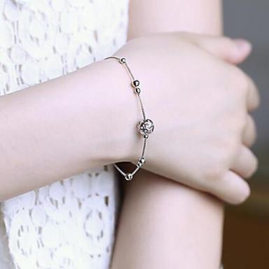 Valentinstag Silber Armband mit weiblichen Mode Temperament die ofing Rolle ist süß schmeckte