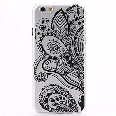 Voor iPhone 6 hoesje / iPhone 6 Plus hoesje Patroon hoesje Achterkantje hoesje Kanten ontwerp Hard PC iPhone 6s Plus/6 Plus / iPhone 6s/6