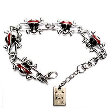 Sieraden geinspireerd door One Piece Cosplay Anime Cosplay Accessoires Armbanden Zilver Legering Mannelijk