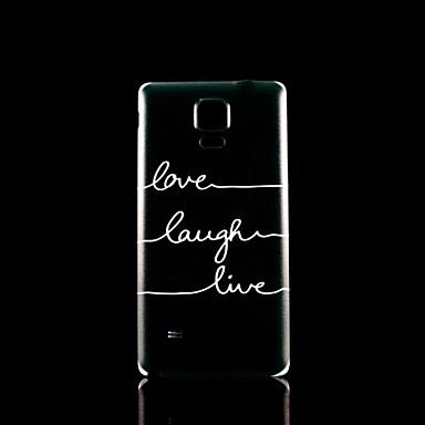 frase patroon harde case voor Samsung Galaxy Note 4