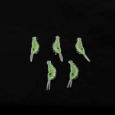 5 pcs Yumuşak Yem / Przynęty wędkarskie Yumuşak Yem / Karides Silikon Deniz Balıkçılığı / Olta Yemi / Sazan Balıkçılığı / Balık Yemi / Genel Balıkçılık / Trol ve Bot Balıkçılığı