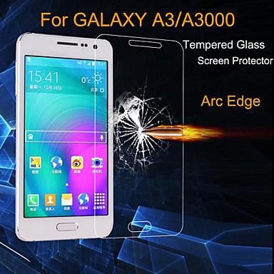 Ekran Koruyucu için Samsung Galaxy A3 Temperli Cam Ön Ekran Koruyucu Ultra İnce