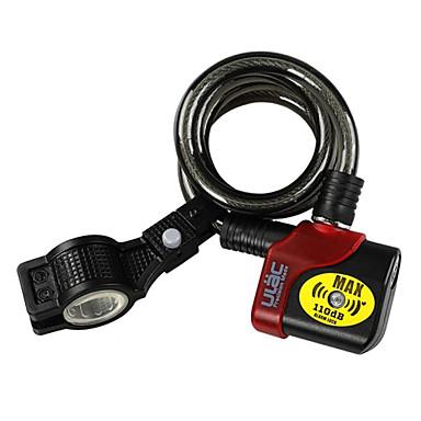 vest biking® 2014 nou ulac al-3p 150 db alarmă biciclete blocare de securitate lanțului de bicicletă MTB de blocare mai tare electronic disc de alarmă