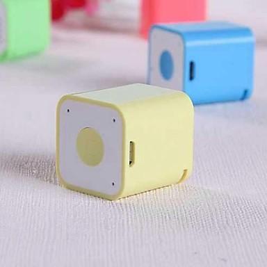 Mini Draagbaar Bluetooth 2.1 Draadloze bluetooth speakers Wit Geel Rood Groen Roze