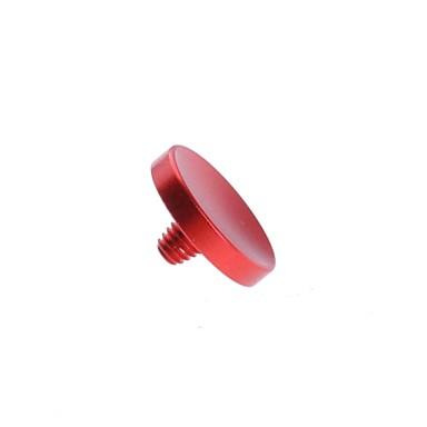 neewer® botão do obturador suave côncavo de metal vermelho para Fujifilm X100 Leica M6 M8 M9