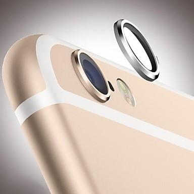 iphone 6 için arka kamera cam lens koruyucu metal kasnak halka bekçi daire kapak durumda koruyucu