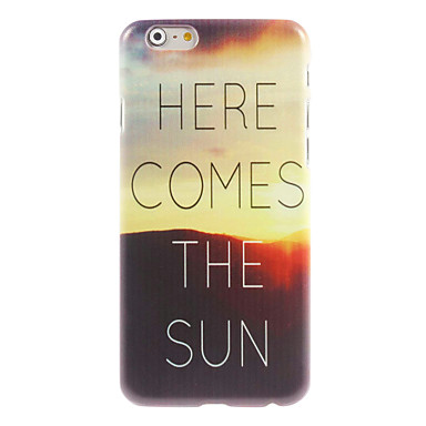 Sunrise-design harde case voor iPhone 6