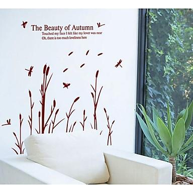 χαρτί dragonfly αυτοκόλλητα τοίχου καλάμι