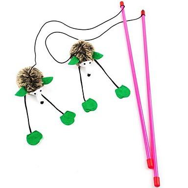 Teaser / Quietsch- Spielzeuge / Maus-Spielzeug Stift Textil Für Katzenspielsachen