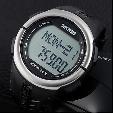 Relógio Casual Banda Preto Prata