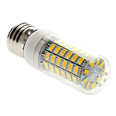 1pc 5 W 450 lm E26 / E27 LED Mısır Işıklar T 69 LED Boncuklar SMD 5730 Sıcak Beyaz 220-240 V / 1 parça