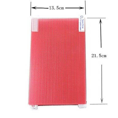 7 inch universele mat screen protector film voor alle sony samsung asus lenovo dell hp acer tablet