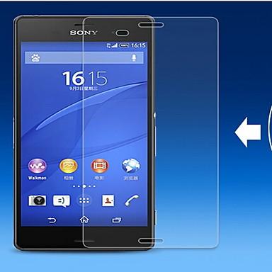 (0.3 milímetros de espessura, dureza 9h) 2.5D bordas arredondadas filme protetor de tela de vidro temperado para Sony Xperia z3