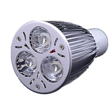 3.5 GU10 LED Σποτάκια MR16 3 LEDs LED Υψηλης Ισχύος Ψυχρό Λευκό 300-350lm 6000-6500K AC 220-240V