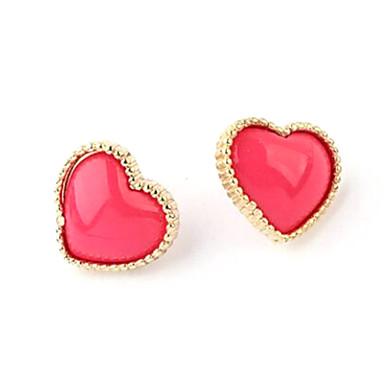 Oorknopjes Hart Hars Legering Hart Sieraden Bruiloft Feest Dagelijks Causaal Kostuum juwelen
