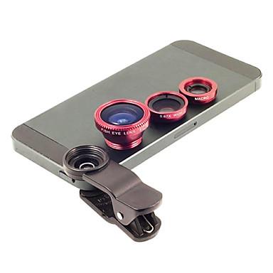Metal Balıkgözü Lens Geniş Açılı Lens 1X Standlı Lensler Evrensel