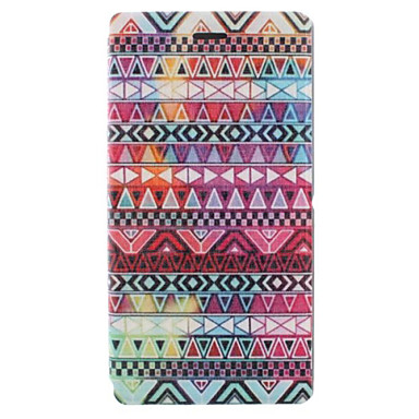 Delicate Stripe Pattern PU Leather Full Body Case with Card for Sony Xperia M2 S50h