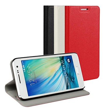 Para Samsung Galaxy Capinhas Com Suporte / Flip Capinha Corpo Inteiro Capinha Cor Única Couro PU Samsung A3