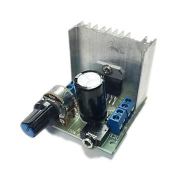 at102 çift kanal gürültüsüz tda7297 güç amplifikatörü kurulu modülü