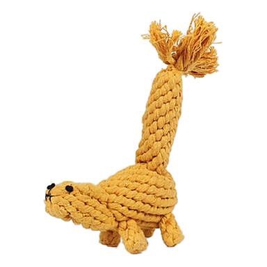 Kau-Spielzeug Seil / Eichhörnchen Textil Für Hundespielzeug
