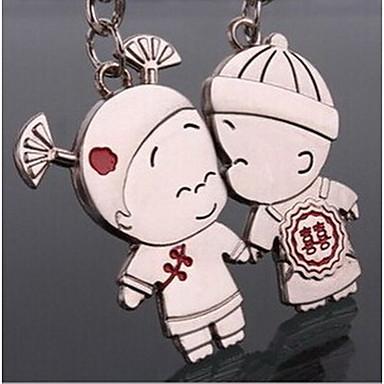 par romântico chaveiro anel chave do casamento para o dia dos namorados amante (um par)