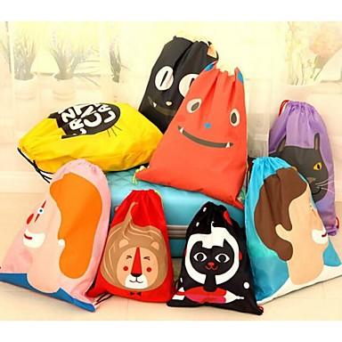 κινούμενα σχέδια ταξιδιού αδιάβροχα ρούχα εσώρουχα λαμβάνουν τσάντα