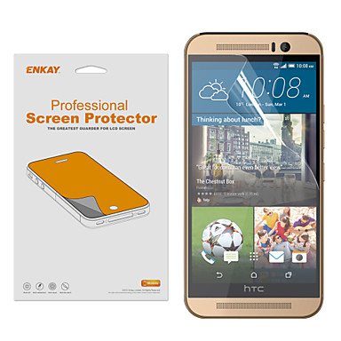 Screenprotector HTC voor HTC One M9 PET 1 stuks Ultra dun