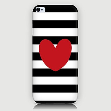 Loving Heart Pattern Back Case for iPhone5/5S