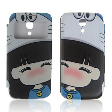 Celular Samsung - Samsung S4 Mini I9190 - Cases Totais/Cases com Suporte - Arte Gráfica ( Multi-côr , Plástico/Pele PU )