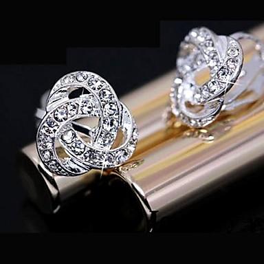 Dames Oorknopjes Modieus Strass Legering Sieraden Dagelijks Kostuum juwelen
