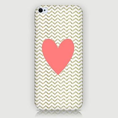 Para Capinha iPhone 5 Case Tampa Estampada Capa Traseira Capinha Coração Rígida PC para iPhone SE/5s iPhone 5