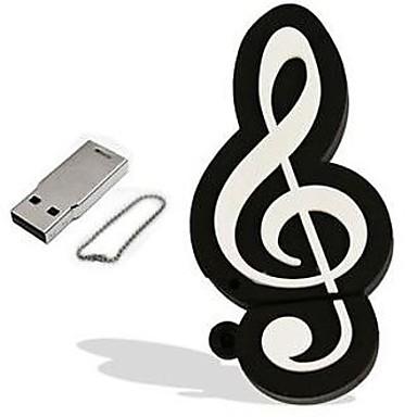 cartoon muzikale noot model 16 GB USB 2.0 flash pen drive