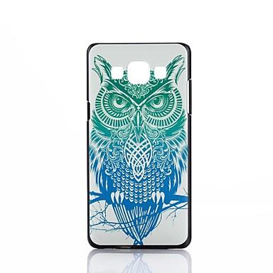 Para Samsung Galaxy Capinhas Estampada Capinha Capa Traseira Capinha Coruja PC Samsung A5