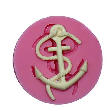 μίνι άγκυρα σιλικόνης σιλικόνης τούρτα μούχλα διακόσμηση καλούπι για fondant fimo καραμέλα σοκολάτας SM-472