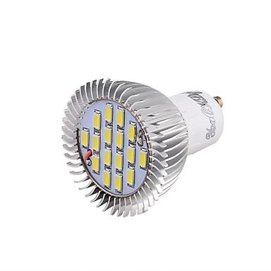 GU10 LED Σποτάκια 16 SMD 5630 650 lm Ψυχρό Λευκό 6000 κ Διακοσμητικό V
