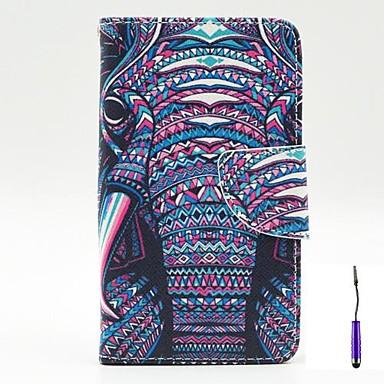 hoesje Voor LG L90 LG G3 Mini LG G3 LG L70 LG LG hoesje Portemonnee Kaarthouder met standaard Flip Volledige behuizing Olifant Hard