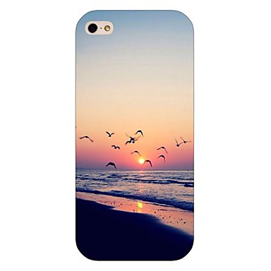 hoesje Voor iPhone 5 Apple iPhone 5 hoesje Patroon Achterkant Landschap Hard PC voor iPhone SE/5s iPhone 5