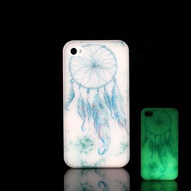 Για Θήκη iPhone 5 Λάμπει στο σκοτάδι tok Πίσω Κάλυμμα tok Ονειροπαγίδα Σκληρή PC iPhone SE/5s/5