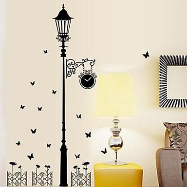 Cartoon Muurstickers Vliegtuig Muurstickers Decoratieve Muurstickers Fotostickers, Vinyl Huisdecoratie Muursticker Wand