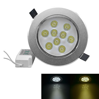 9 high power led 810-900lm warm wit koud wit 3000-3200k / 6000-6500k ac 100-240v