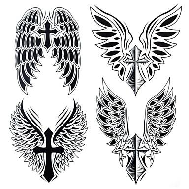 Tatoeagestickers Overige Groot formaat Waterproof Dames Heren Volwassene Tiener Tijdelijke tatoeage Tijdelijke tatoeages