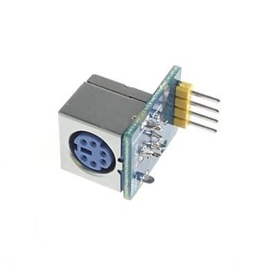 ps2 muis en toetsenbord module socket compatibel voor Arduino