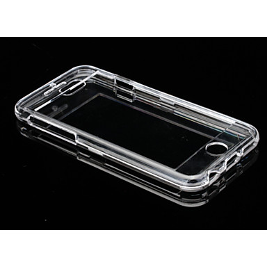 PC-sided Transparent Plastic Lid Down Hard Shell Phone Shell Suitable for iPhone 6 Plus