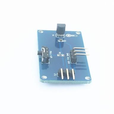 DS18B20 multimetering módulo de coleta de dados de temperatura para arduino - azul profundo