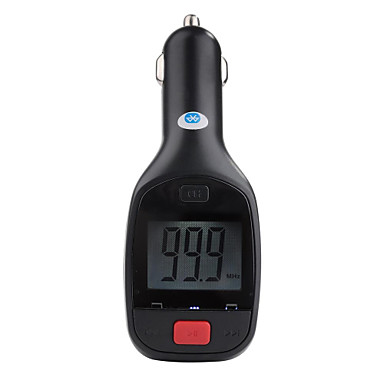 Bluetooth Car Kit Charger AUX-in FM Transmitter Hansfree Mic For iPhone 6 6 Plus 5S 4S Samsung Galaxy